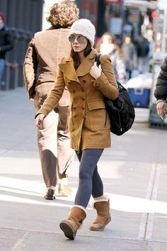 Sandra Bullock Wool Coat