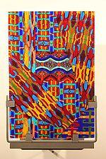 """Australis by Jim Vollmer (Art Glass Wall Art) (12.5"""" x 7.75"""")"""