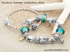 The spring collection is just about to release and photos of the upcoming Pandora Summer 2013 collection are here!  The quality is not the best on these photos, but it'll give you a great idea of what is in store for us in the coming months.  In the US...