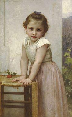 Bouguereau 'Yvonne' 1896