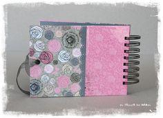 Contraportada del álbum de Claudia Mini Albums, Paper Envelopes