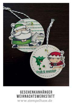 #Weihnachtswerkstatt #stempelhase.de #SignsOfSanta #Weihnacht #stampinup #FunFoldCard ***WERBUNG*** Die Geschenkanhänger für Weihnachten mit dem Stempelset Weihnachtswerkstatt sind einfach abgefallen beim Basteln der Fun Fold Card. Schnell und einfach sind sie gemacht. #Stampin' Up #stampinupdemonstrator #stempelhase #christmascard #karten #selbstgemacht #basteln #stampinupdeutschland #ichverkaufestampinupprodukte #cardmaker #paper #diyideen #papeterie #selbstgemacht #Stempel #noel…