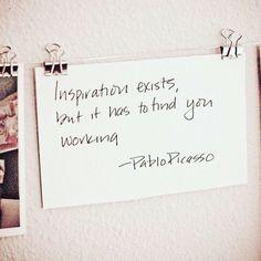 Lo dicho: Que la inspiración te coja trabajando  #Repost @inptn #quotes #wordofwisdom #bestoftheday #quote #comment #TagsForLikes #like #textgram #instagood #igaddict #quoteoftheday #instadaily #true #instamood #nofilter #word #life #instagood #love #photooftheday #igers #goodvibes #instalike #instadaily #tweegram #repost #instagood #motivation #inspiration
