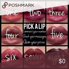 LipSense Pick a Lip get a discount! I have a TON in stock. Email is lularoeemilymgreen@gmail.com Makeup Lipstick