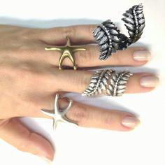 Silver Leaf Ring Tribal Ring Gypsy Boho Ring Leaf Eternity