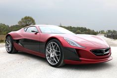 THE RIMAC CONCEPT ONE DISPLAYED FOR 980,000 DOLLARS!