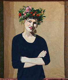 Textile art by Adinka Tellegen