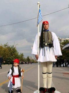 Greek Independence, Zorba The Greek, Greek Beauty, Honor Guard, Greek Culture, The Beautiful Country, Athens Greece, Macedonia, Harajuku
