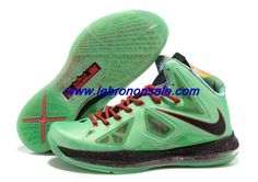 new product 8bcc8 06be8 2013 Nike Lebron X (10) Cutting Jade Style 541100-300 For Wholesale China