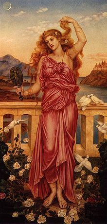 Troijan Helena Evelyn de Morgan's painting from 1898.-Wikipedia