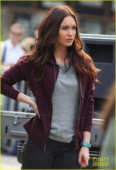 teenage mutant ninja turtles movie megan fox | Fox: 'Teenage Mutant Ninja Turtles' Set with Will Arnett! | Megan Fox ...