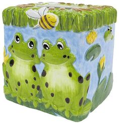 Froggy Friends Tissue Box Cover by Expressions, http://www.amazon.com/gp/product/B000PWD6UY/ref=cm_sw_r_pi_alp_uDxoqb0FPTX0Q