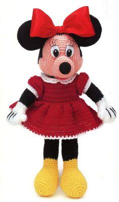 Minnie Mouse Crochet Pattern. $6.00, via Etsy.