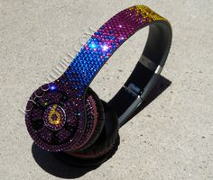 Crystal BLING Beats by Dre in Custom Swarovski Crystal Colors