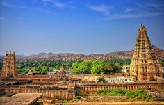 #Hampi is a village and temple town recognised as a #UNESCO World Heritage Site, listed as the Group of Monuments at #Hampi. in northern #Karnataka, India. It was one of the richest and largest cities in the world during its prime.