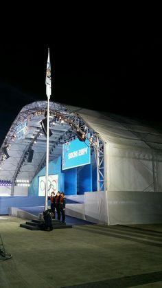 Winter Olympics 2014 Sotchi Medal Plaza
