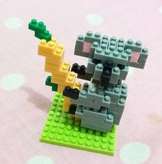Added in nanoblock collection... 🐨🐨🐨 #koala #nanoblock #kawadananoblock #minicollection #collection #mine