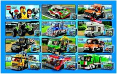 LEGO 60060 Auto Transporter instructions displayed page by page to help you build this amazing LEGO City set Lego City Fire Station, Lego Police Station, Lego City Police, Lego Train Tracks, Lego Trains, Lego Airport, City Airport, Lego City Sets, Lego Jurassic World