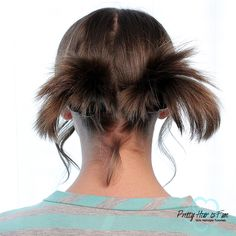 Pretty Hair is Fun: Pull Through PigTails Pretty Hairstyles, Easy Hairstyles, Girl Hairstyles, Short Hair Lengths, Short Hair Styles Easy, Back To School Hairstyles, Princess Hairstyles, Halloween Hair, Holiday Hairstyles