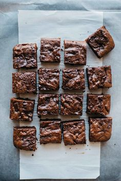 hazelnut butter brownies | dolly and oatmeal