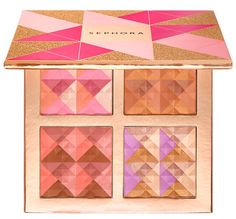 Sephora Holiday 2016 Blush, Bronzer, Highlighter Palette