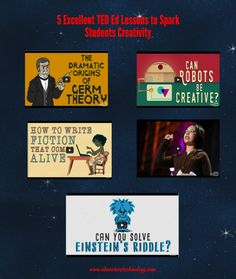 5 Excellent TED Ed Lessons to Spark Students Creativity ~ Educational Technology and Mobile Learning