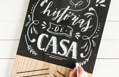 Love this DIY Chalkboard…