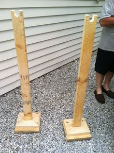 ... clothes racks. Just add a pole and you're good to go! Great for garage