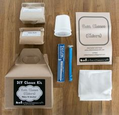 Urban Cheesecraft DIY Goat Cheese Kit