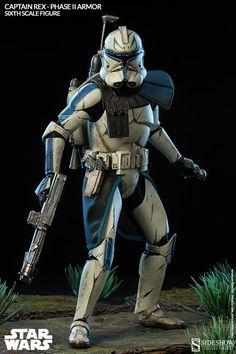Star Wars - Captain Rex phase 2 armor