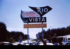 Rio Vista was a Friday night ritual, when I was a kid Georgia Usa, Georgia On My Mind, Atlanta Georgia, Rio Vista, Atlanta Restaurants, Old Signs, The Old Days, Back In The Day, Childhood Memories