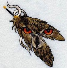 gorgeous owl ,OPWPCRE1079 - PCRE1079, 2014-12 Realistic Singles,by Premium embroidery designs