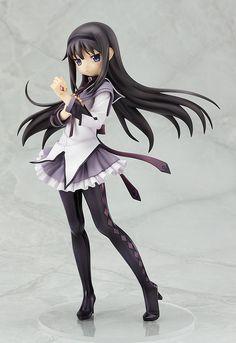 Mahou Shoujo Madoka Magica Akemi Homura 1-8th Scaled PVC by Good Smile Company - Anime Figure Sales
