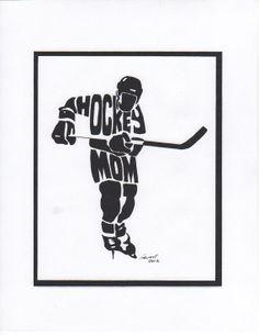 Personalized Sport Figure Hockey Mom by PersonalSportsFigure, $20.00