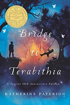 """Read """"Bridge to Terabithia"""" by Katherine Paterson available from Rakuten Kobo. The anniversary edition of the classic Newbery Medal-winning title by beloved author Katherine Paterson, with brand. Classics To Read, Katherine Paterson, Good Books, Books To Read, Bridge To Terabithia, Ella Enchanted, Newbery Medal, Newbery Award, Summer Reading Lists"""