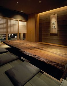 Modern home interiors and design ideas from the best in condos, penthouses and architecture. Plus the finest in home decor and products. Living Room Japanese Style, Japanese Style House, Japanese Home Decor, Japanese Modern, Japanese Furniture, Japanese Interior Design, Home Interior Design, Zen Interiors, Zen House