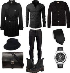 Look All Black Inverno