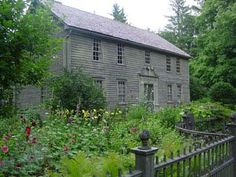 Mission House: In the mid-1730s, the Mohicans living in western Massachusetts gave permission for a young minister to live among them. The Rev. John Sergeant lived in a simple cabin until he married Abigail Williams in 1739 and built the Mission House c.1742.