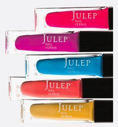 Julep nail polishes #PurPinspiration