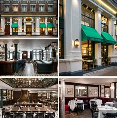 Les Deux Salons, French Cuisine - Covent Garden Bistro Restaurant, London Restaurants, Covent Garden, Salons, Places To Eat, Mansions, House Styles, Drinks, Home Decor
