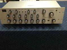 A rare Buzzy Beck built Bozak CMA10-2DL in silver.