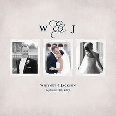 Photo Books: Our Promise: Wedding Album, 11x14, Crushed silk cover with layflat pages