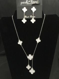 Park Lane Rodeo Drive Necklace and Earrings Austrian Crystals #ParkLane