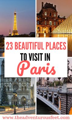 Paris Bucket list: 23 of the best places to visit in Paris Paris Bucket list: 23 of the best places to visit in Paris Traveling to Paris? Here are the most beautiful places to visit in Paris Nice, Marseille France, Beautiful Places To Visit, Cool Places To Visit, Places To Travel, Places To Go, Travel Things, Sainte Chapelle Paris, Viajes