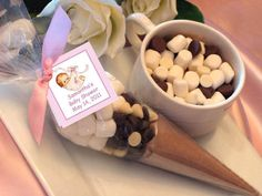 Personalized+baby+shower+HOT+COCOA+Chocolate+CONE+by+shadow090109