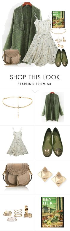 """""""My next read will be Ben-Hur"""" by fashion-nova ❤ liked on Polyvore featuring Joe Browns, Tory Burch, Chloé, Valentino and Wallace"""