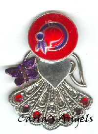 Red Hat Angel Angel Pin - $18.95  http://www.carlasangels.com/red-hat-angel-pin