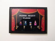 Super Mario Bros 2- Nintendo Key Holder