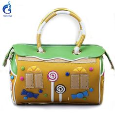 Italy PU sweet Lollipop candy Style Retro made Bolsa bag Check it out! #shop #beauty #Woman's fashion #Products #homemade