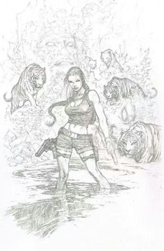 Tomb Raider commission